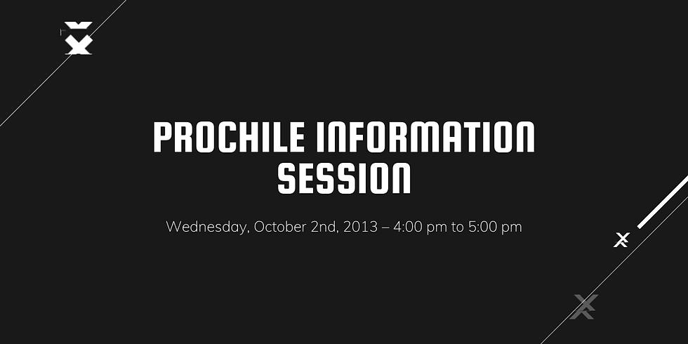 PROCHILE Information Session