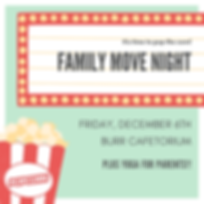 Mint Theater Marquee Popcorn Movie Night