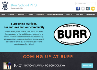 THE ALL-NEW BURR PTO WEBSITE!