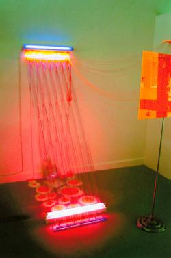 'Cosmic Pulse' Aspex Gallery 2001