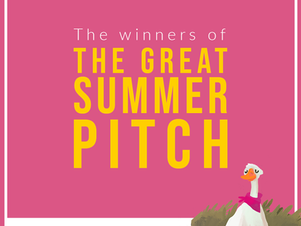 The winners of The Great Summer Pitch 2021