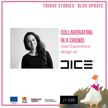 Collaborating in a crowd: User Experience design at DICE