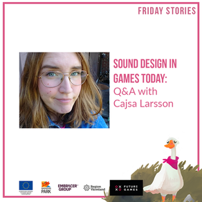 Sound design in games today: Q&A with Cajsa Larsson