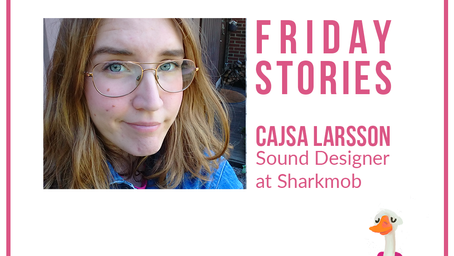 Friday Stories with Cajsa Larsson