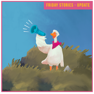Friday Stories is back - with a twist!