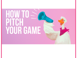Lunch Talk: How to pitch your game