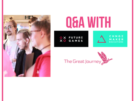 Lunch Talk: Q&A with Changemaker Educations and Futuregames