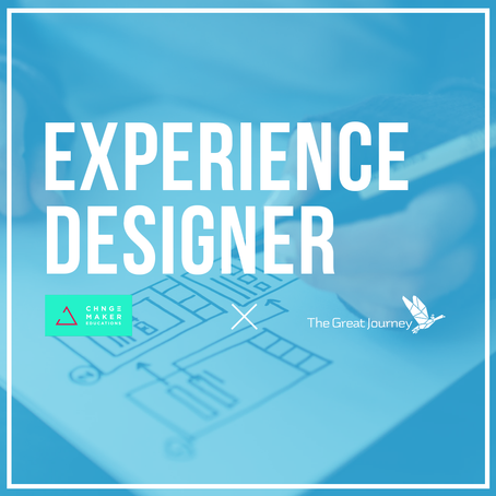 Call to adventure! Applications for Experience Designer!