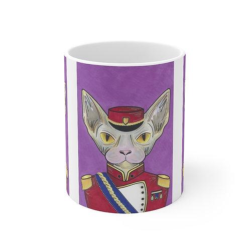 Military Sphynx Mug