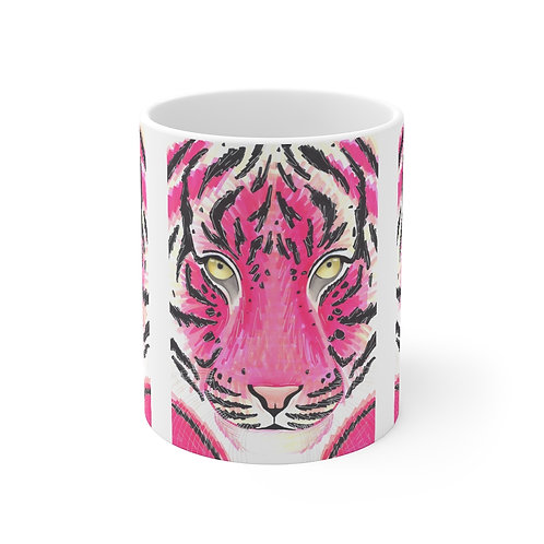 Pink Tiger Mug
