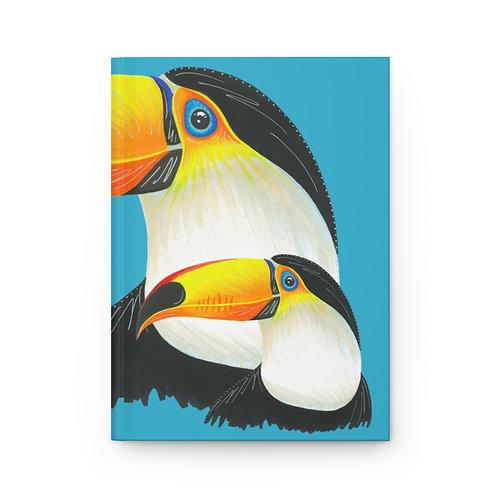 Toucan Hardcover Journal Matte
