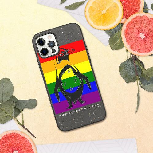 Pride Penguin Biodegradable phone case