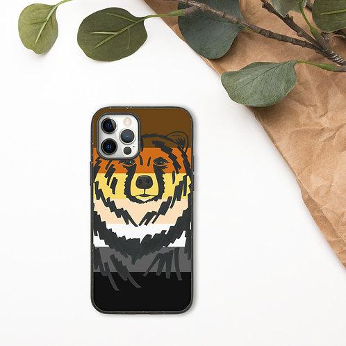 Pride Bear Biodegradable phone case