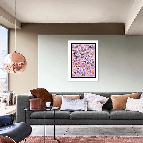 Art Lovers Montage (3 Variations)