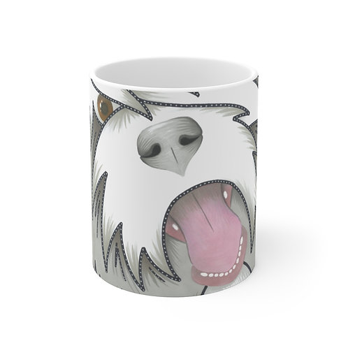 Beardie Face Mug
