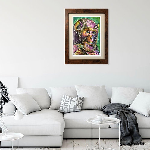 Reflective Chimp (Only 38 Available)