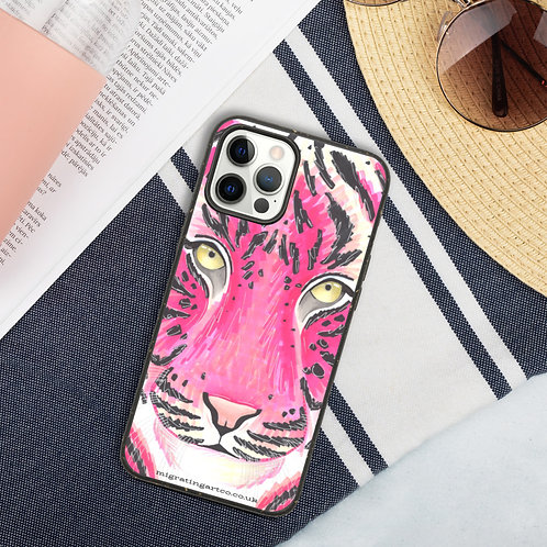 Pink Tiger Biodegradable Iphone case