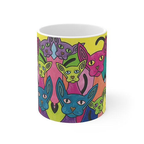 Cool Cats & Kittens Mug