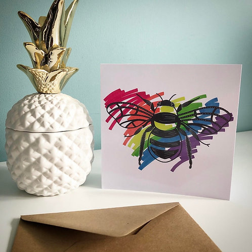 GREETING CARDS PACK OF 5 (SWARM)