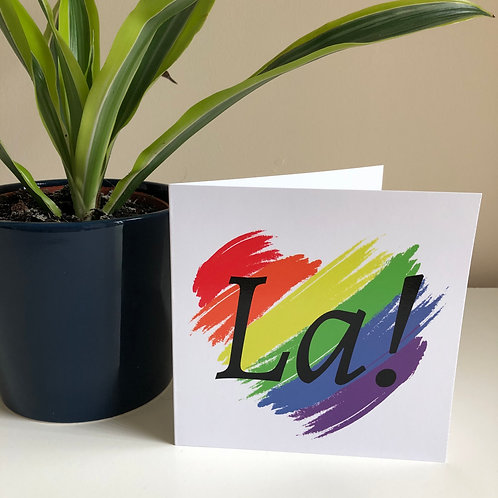 LA! Pack of 2 Greeting Cards