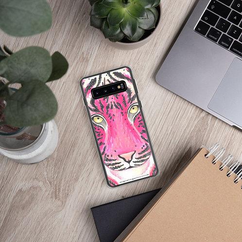 Pink Tiger Samsung Case