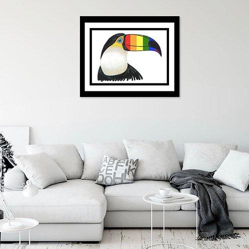Pride Toucan