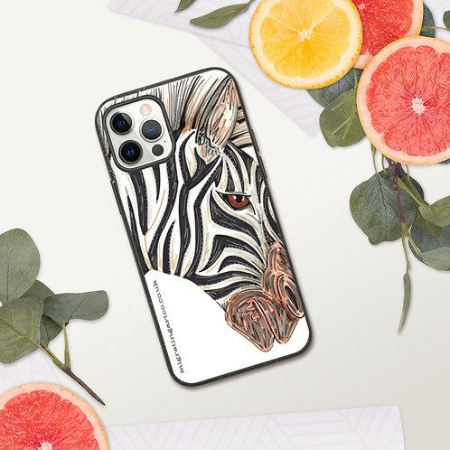 Zebra Biodegradable Iphone case