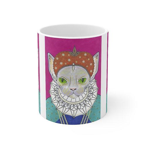 Queen Elizabeth 1 Sphynx Mug