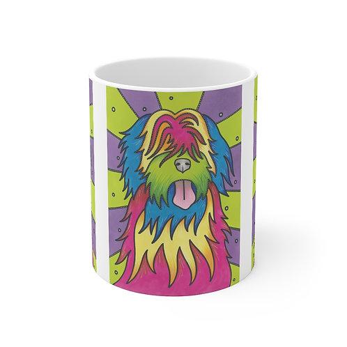 Disco Beardie Mug