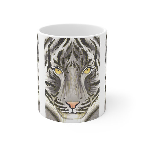Grey Tiger Mug