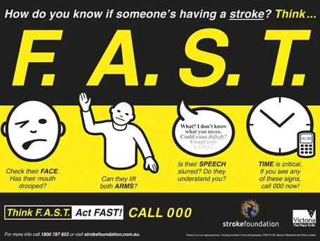 It's National Stroke Week