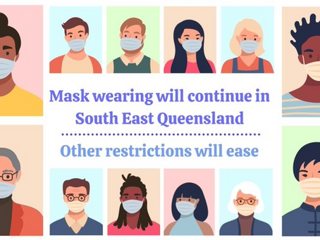 Easing Restrictions - Covid19 August 2021