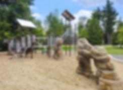Module de jeux, Blainville Parc Fontainebleau 2014.