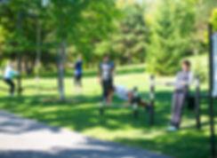 Parcours d'entrainement, Nature, Trekfit.