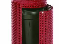 FR500p(FT100) poubelle évasée avec porte