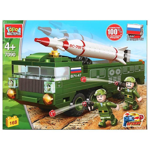 ロシア軍 TOPOL-M長距離ミサイル 7118-CG