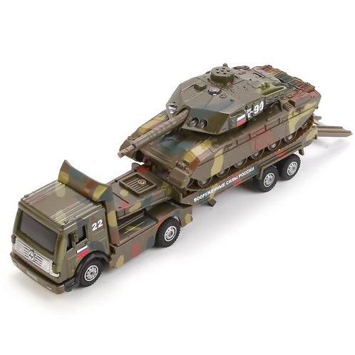 ロシア軍戦車運搬トレーラー CT1061(SL556-TANK)