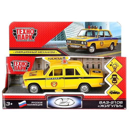ваз-2106 パトカー 黄色 2106-12SLPOL-YE