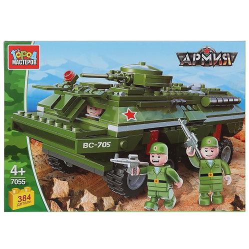 ロシア軍双輪装甲車と歩兵 7055-WG