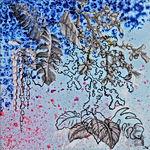 Odile Bouxirot, ariste peintre , série Compost