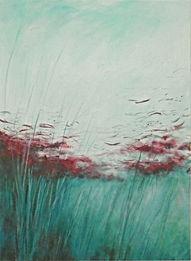 Odile Bouxirot Paris XI° artiste peintre végétation, forêt, arbres, branches, broussailles, fouillis, ronces, nature