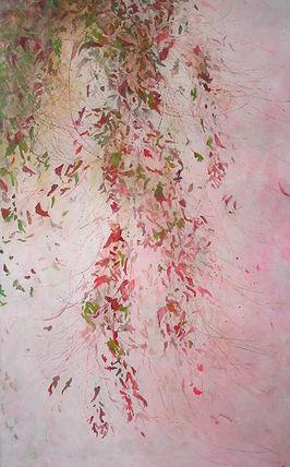 art, peinture, acrylique sur toile, végéation, hors sol , odilebouxirot, paris, ecosysteme