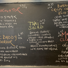 Kitchen Specials - From May 7th to 9th