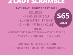 Sign-Up for Our 2 Lady Now!