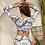 Thumbnail: Long Sleeved Floral High Waisted Bikini