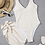 Thumbnail: Nude Ribbed One-Piece with Skirt