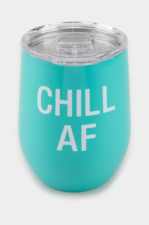 Chill AF Wine Tumbler