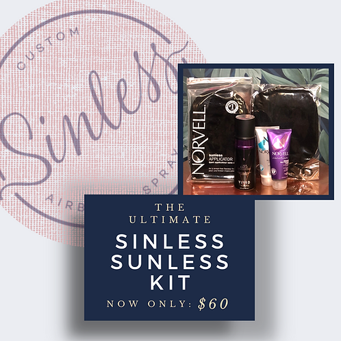 """""""The Ultimate"""" Sinless Sunless Kit"""