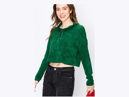 Crop Tie Sweater