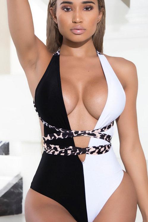 Black/White, Cheetah Wrap
